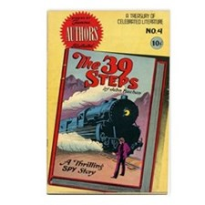 39 Steps Comic Book Postcards (package Of 8)