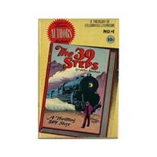 The 39 Steps Comic Book Magnets