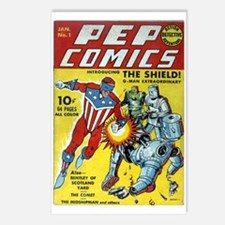 Pep Comics #1 Postcards (package Of 8)