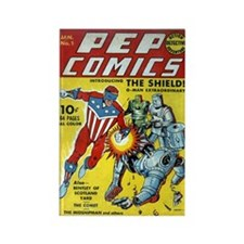 Pep Comics #1 Rectangle Magnets