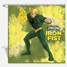 Ironfist Shower Curtain