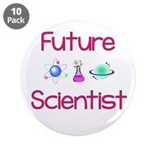 "Future Scientist 3.5"" Button (10 Pack)"