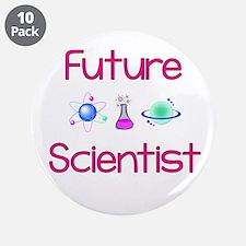 "Future Scientist 3.5"" Button (10 Pack)"