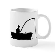 Angler Fisher boat Mug