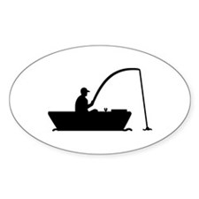 Angler Fisher boat Decal