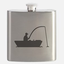 Angler Fisher boat Flask