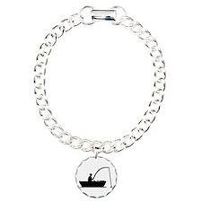 Angler Fisher boat Bracelet