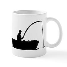 Angler Fisher boat Small Mug