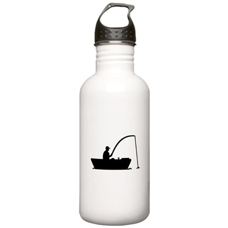 Angler Fisher boat Stainless Water Bottle 1.0L