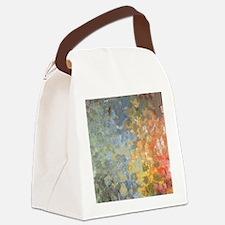 Unique Blue Canvas Lunch Bag