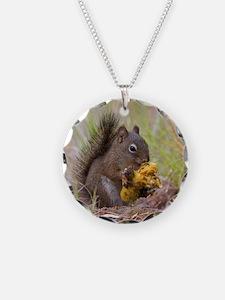 Happy Squirrel & Prized Mush Necklace