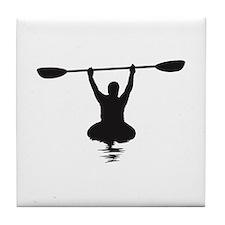 Kayaking Tile Coaster