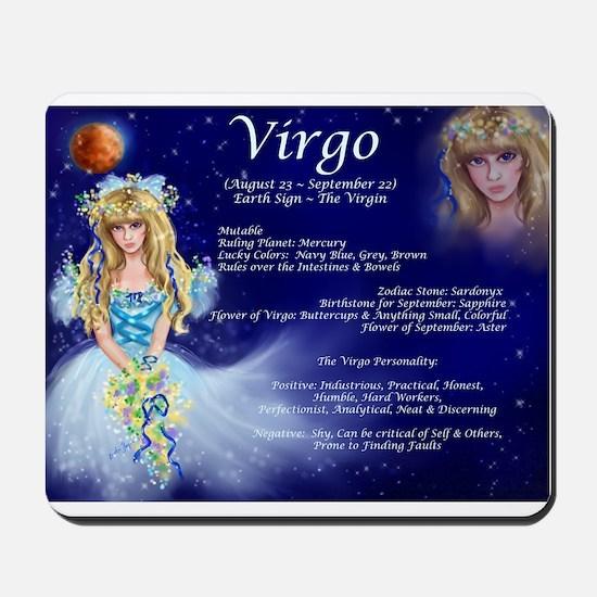 Goddess Virgo Mousepad
