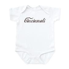 Vintage Cincinnati Infant Bodysuit