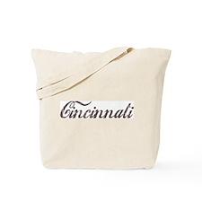 Vintage Cincinnati Tote Bag