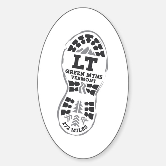 Long Trail Sticker (Oval)