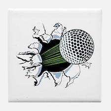 breakthrough Tile Coaster