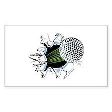 breakthrough Sticker (Rectangle)