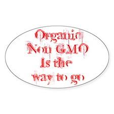 Organic Non-GMO Decal