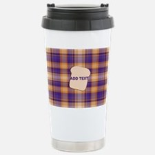 Peanut Butter and Jelly Stainless Steel Travel Mug