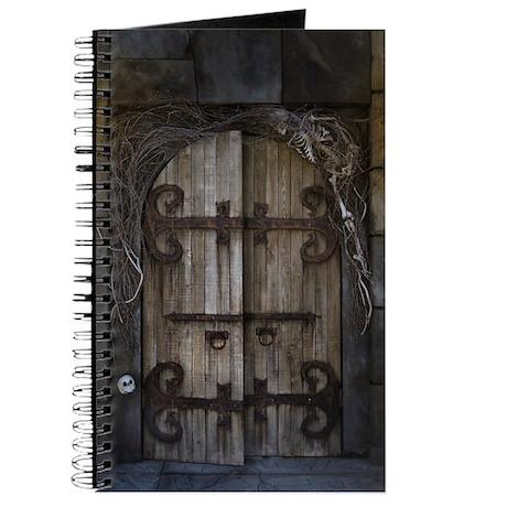 Gothic Spooky Door Journal  sc 1 st  CafePress & Gothic Spooky Door Journal by FantasyArtDesigns pezcame.com