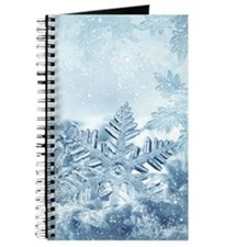 Snowflake Crystals Journal