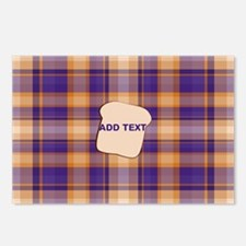 Peanut Butter and Jelly P Postcards (Package of 8)