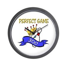 Perfect Game Wall Clock