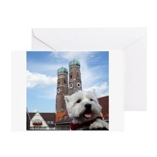 Nelly in München Greeting Card