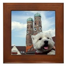 Nelly in München Framed Tile