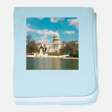 Capitol Hill baby blanket