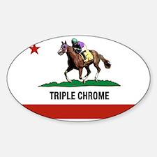 Cute Belmont Sticker (Oval)