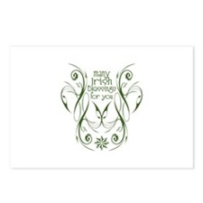 Many Irish Blessings For You Postcards (Package of