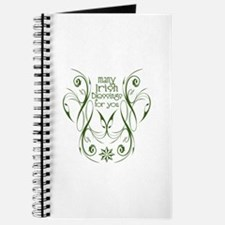 Many Irish Blessings For You Journal