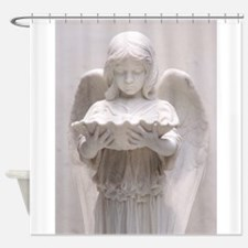 Solemn Angel Shower Curtain