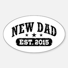 New Dad Est. 2015 Decal