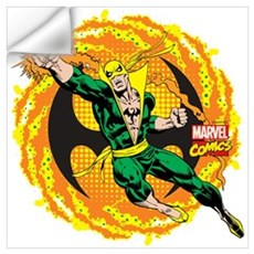 Marvel Iron Fist Action Wall Art Wall Decal
