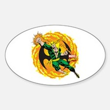 Marvel Iron Fist Action Decal