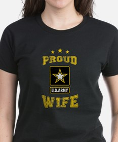 US Army proud Wife Tee