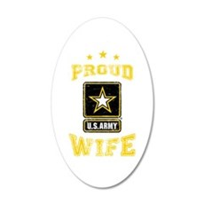 US Army proud Wife Wall Decal