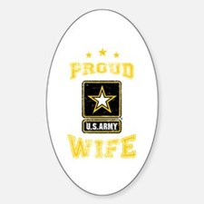 US Army proud Wife Decal