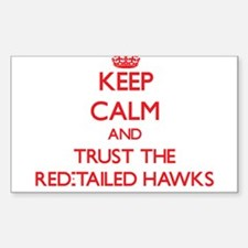Keep calm and Trust the Red-Tailed Hawks Decal