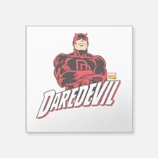 "Daredevil Square Sticker 3"" x 3"""