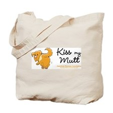 Kiss My Mutt Tote Bag