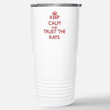 Keep calm and Trust the Rays Travel Mug