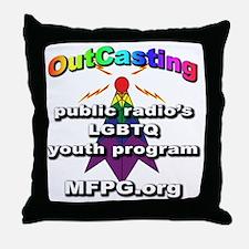 Unique Public radio Throw Pillow