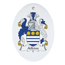 Atkins Oval Ornament