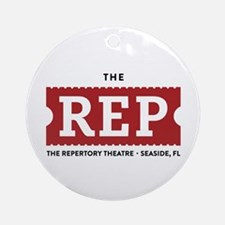 The Rep Ornament (round)