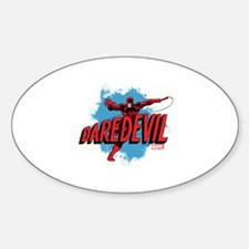 Daredevil Whip Sticker (Oval)