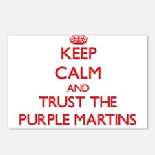Keep calm and Trust the Purple Martins Postcards (